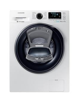 Samsung WW80K6610QW/EU 8kg Load, 1600 SpinAddWash™ Washing Machine withecobubble™Technology - White Best Price and Cheapest