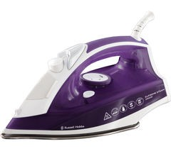 RUSSELL HOBBS Supremesteam 23060 Steam Iron - Purple Best Price and Cheapest