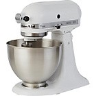 KitchenAid 5K45SSBWH Classic Stand Mixer - White Best Price and Cheapest