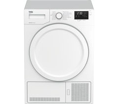 BEKO DHY7340W Heat Pump Tumble Dryer - White Best Price and Cheapest