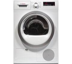 BOSCH WTN85280GB Condenser Tumble Dryer - White Best Price and Cheapest