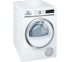 SIEMENS iQ500 WT47W590GB Condenser Tumble Dryer - White Best Price and Cheapest