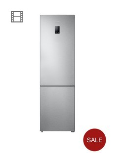 Samsung RB37J5230SA 60cm Frost-Free Fridge Freezer with All-Around Cooling System - Silver Best Price and Cheapest