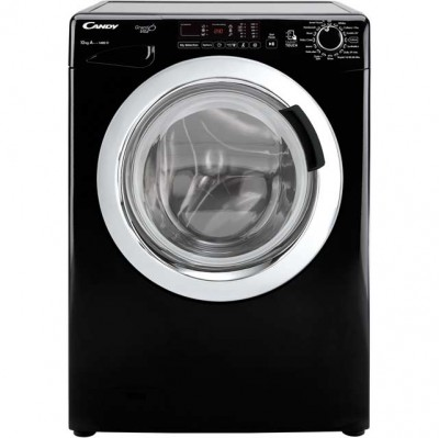 Candy Grand'O Vita GVS1410DC3B 10Kg Washing Machine with 1400 rpm - Black Best Price and Cheapest