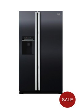 Daewoo FRAX22D3B Plumbed USA Style Fridge Freezer Best Price and Cheapest