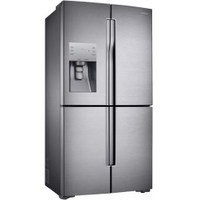 Samsung RF56J9040SR American Style Freestanding Fridge Freezer Stainless Steel Best Price and Cheapest