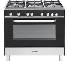 KENWOOD CK305G Gas Range Cooker - Black Best Price and Cheapest