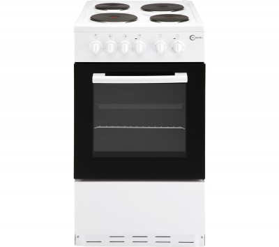 FLAVEL FSBE50W 50 cm Electric Cooker - White Best Price and Cheapest