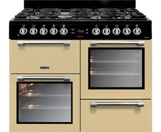 Leisure Cookmaster 100 CK100F232C 100cm Dual Fuel Range Cooker - Cream Best Price and Cheapest