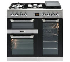 LEISURE Cuisinemaster CS90F530X Dual Fuel Range Cooker - Stainless Steel Best Price and Cheapest