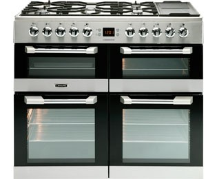 Leisure Cusinemaster 100 CS100F520X 100cm Dual Fuel Range Cooker - Stainless Steel Best Price and Cheapest