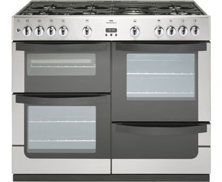 Newworld Vision100g 100cm Gas Range Cooker Black Best