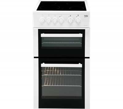 BEKO BDC5422AW Electric Ceramic Cooker - White Best Price and Cheapest