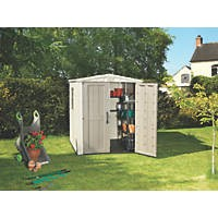 Keter Factor Plastic Shed 6 x 6 (Nominal)