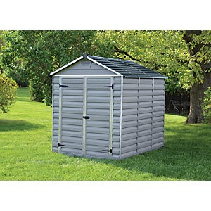 Palram Skylight Grey Shed 6x8