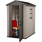 Keter Apex Plastic Garden Shed - 6 x 4ft