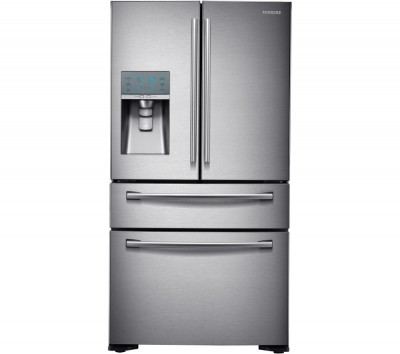 SAMSUNG RF24FSEDBSR American-Style Fridge Freezer - Stainless Steel Best Price and Cheapest