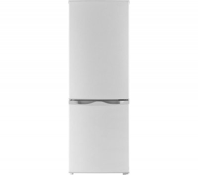 ESSENTIALS C50BS16 Fridge Freezer - Silver Best Price and Cheapest