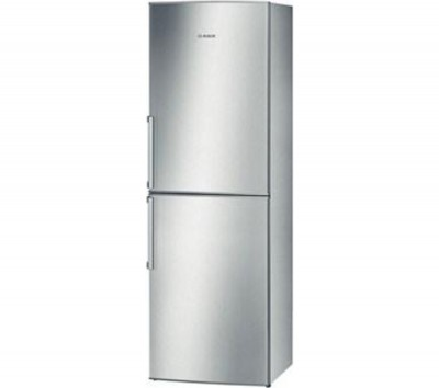 BOSCH Exxcel KGN34VL20G Fridge Freezer - Stainless Steel Best Price and Cheapest